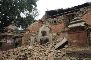 Destruction of Buddhist Temple in KTM
