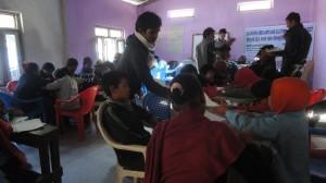 GDA Shishir teaching in class