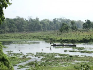 Chitwan river crossing.2