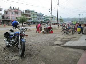 En route to Lumbini