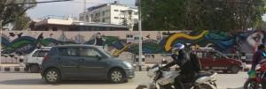 KTM mural