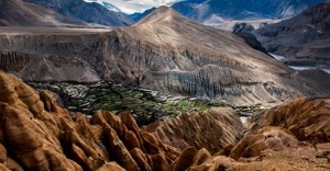 Mustang landscape