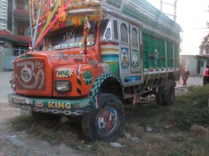 Painted Lorry 2