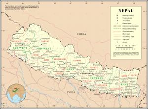 Zones & regions of Nepal