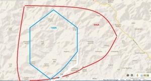 GDA map