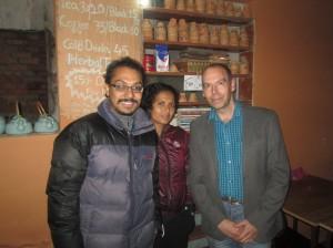 Kitlee  photo with Ashok Samuna and Alan