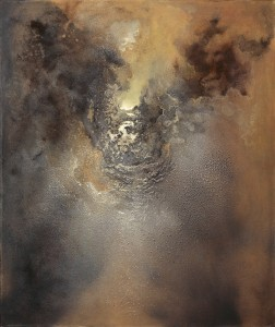 Govinda Sah Azad, Just Hope,2008, 120 x 100 cm, oil and acrylic on canvas, Photo by Jonathan Greet, Image courtesy October Gallery, London RESIZE