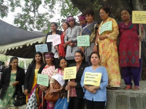 Womens rights and freedom from violence against women group photo